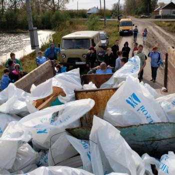 II-е соревнования по сбору мусора